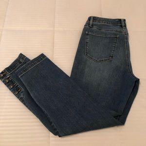 Talbots 5 pocket jeans